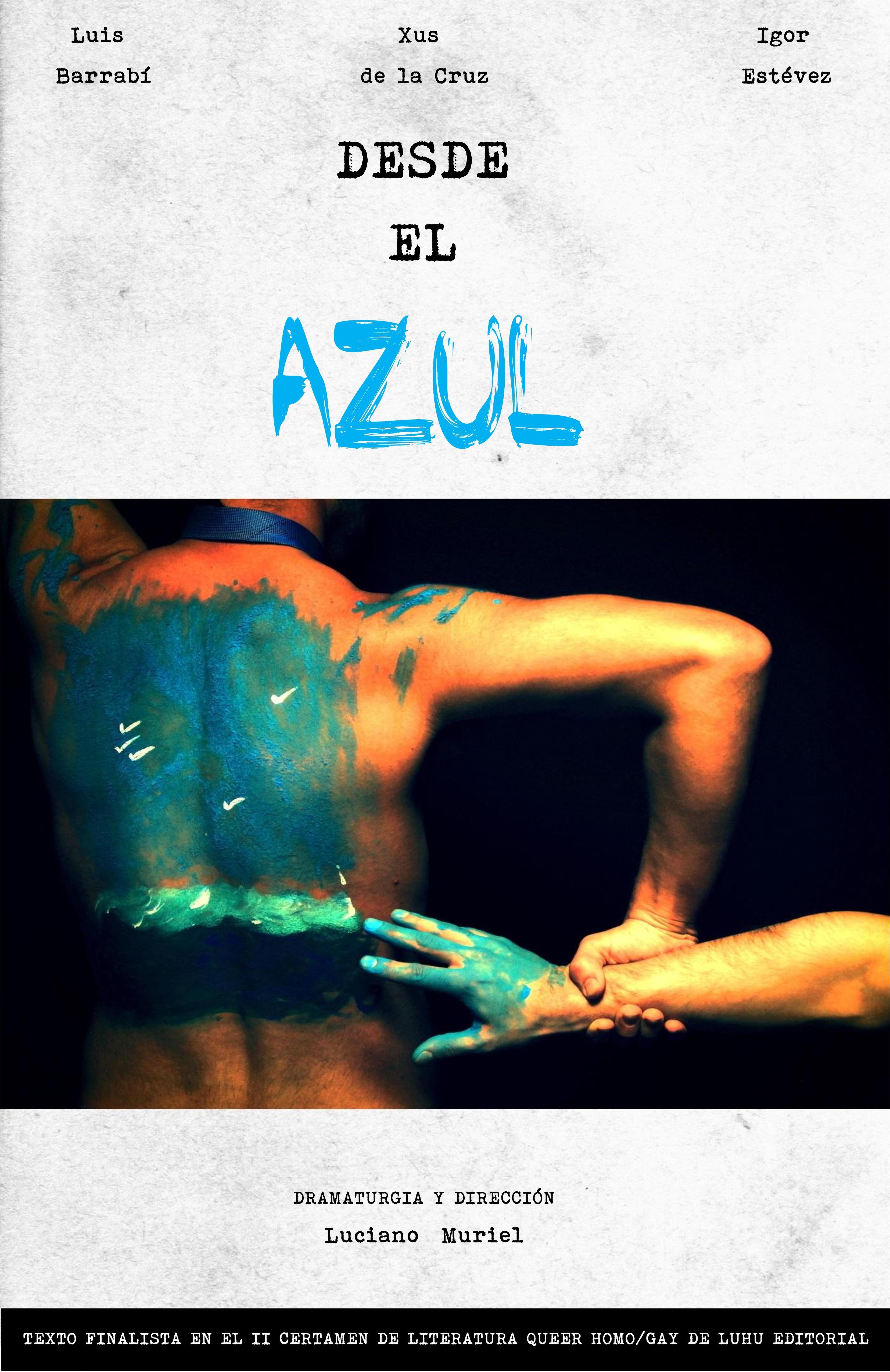 Cartel de DESDE EL AZUL.jpg